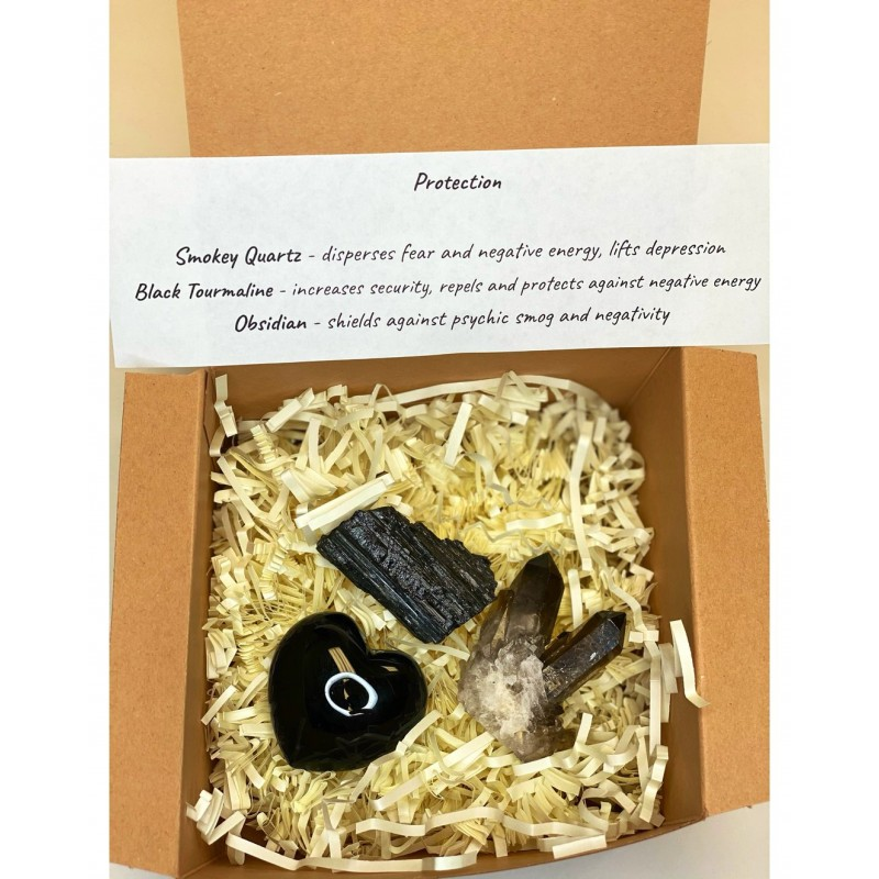 Healing Crystals - Spiritual Protection Gift Set