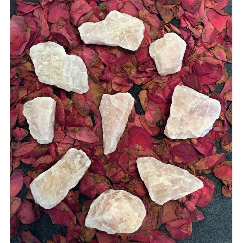 Healing Crystals - Palm Sized Rose Quartz Chunks