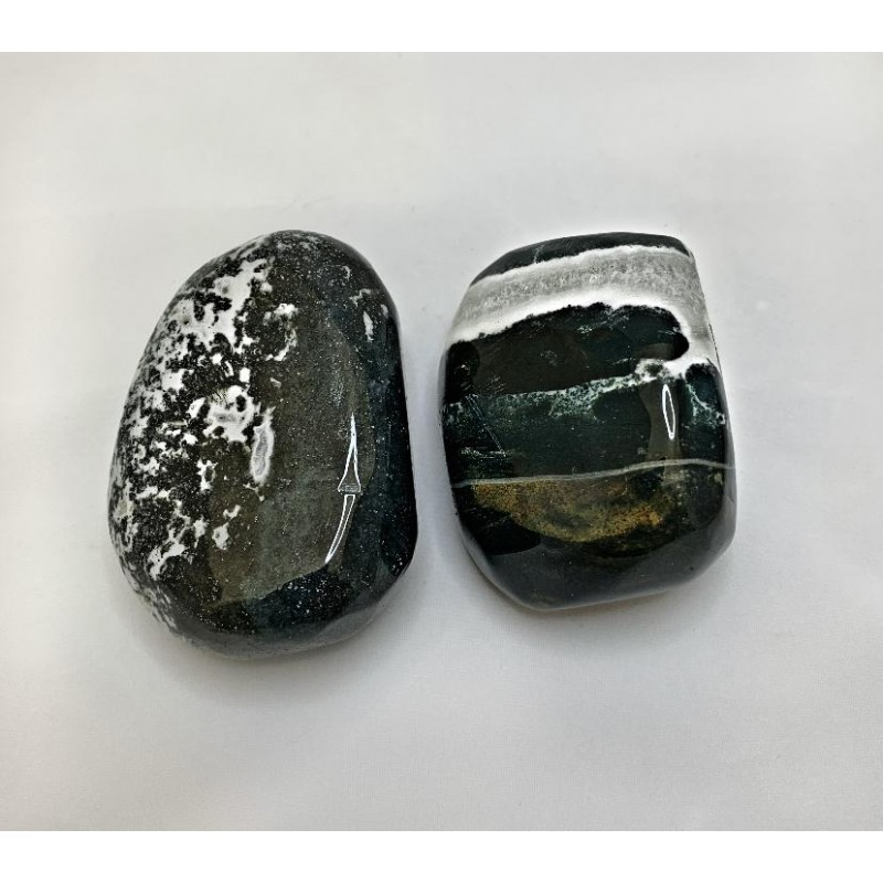 Healing Crystals - Moss Agate Power Stones