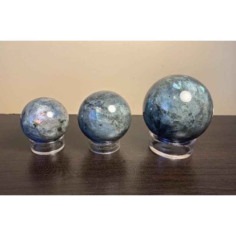 Healing Crystals - Labradorite Spheres