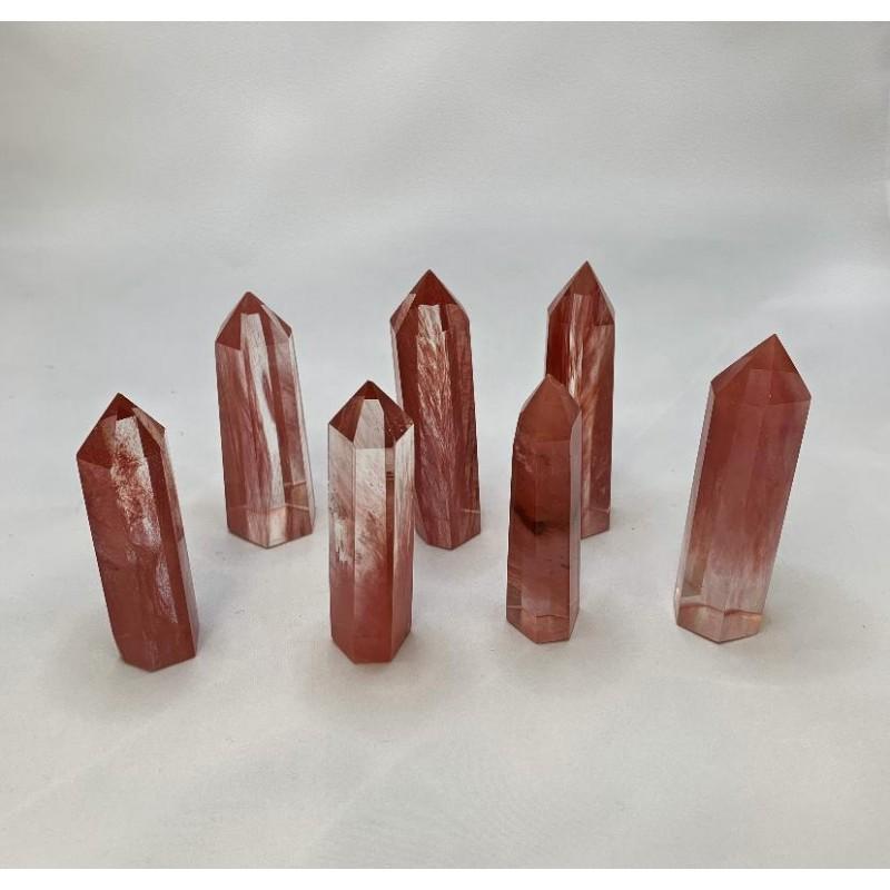 Healing Crystals - Cherry Quartz Towers