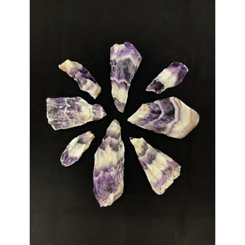 Healing Crystals - Chevron Amethyst Roots