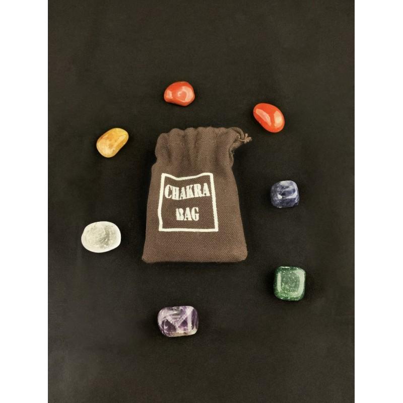 Healing Crystals - Chakra Bag (7 Stone)