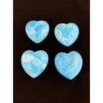 Healing Crystals - Blue Aragonite Hearts