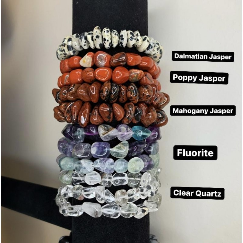 Healing Crystals - Assorted Bracelets